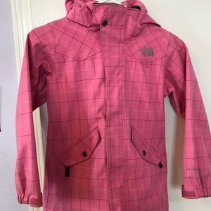 The North Face Ski Jacket in pink, Child Small